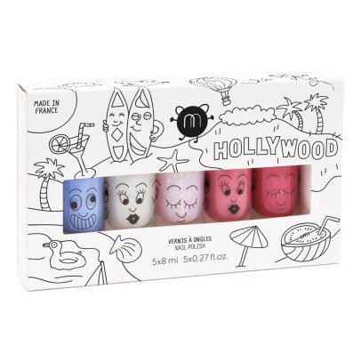 Nailmatic Kids Hollywood Set of 5 Nail Varnishes-listing