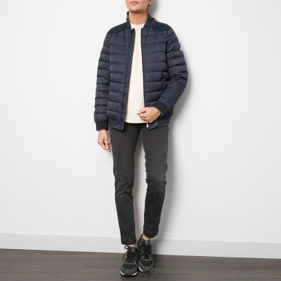 Pyrenex Milo Down Jacket with Velour Detailing-listing