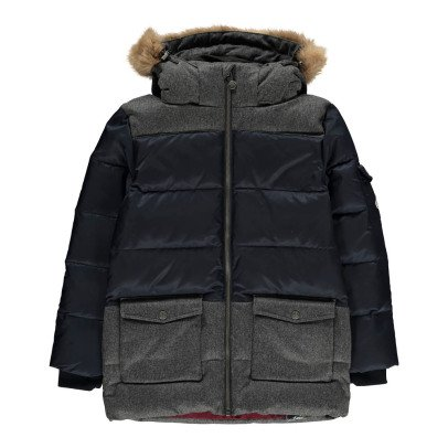 Pyrenex Two-Tone Arnold Down Jacket-listing
