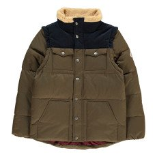 product-Pyrenex Two-Tone Thibault Down Jacket with Detachable Sleeves