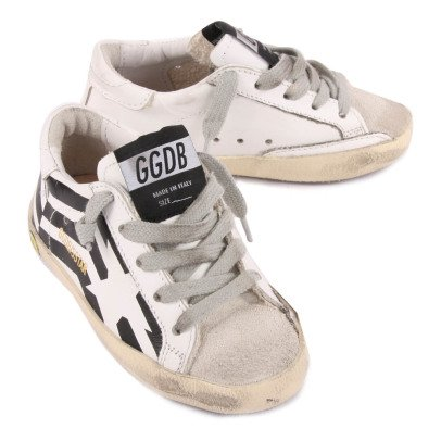 Golden Goose Superstar Flag Leather Trainers-product