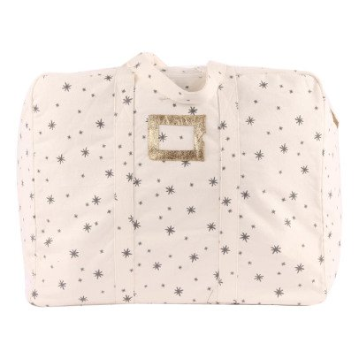 Polder Girl Ecru 72h Weekend Bag - Grey Stars-listing