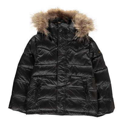 Finger in the nose Premium Snowslope Fur Jacket-listing