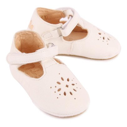 Easy Peasy Lillyp Velcro Leather Mary Janes-listing