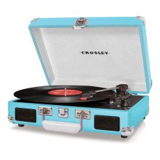 product-Crosley Turquoise Deluxe Cruiser Crosley turntable