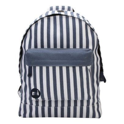 Seaside Stripe Blue Backpack - Blue stripe Mi Pac dZt6Wm