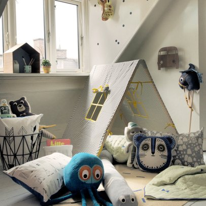 Ferm Living Kids Tenda Curry Wave-listing