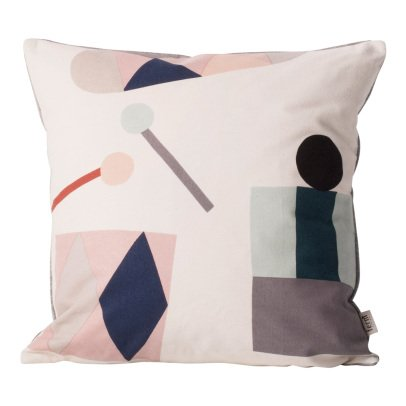 Ferm Living Kids Coussin Party en coton organique -listing