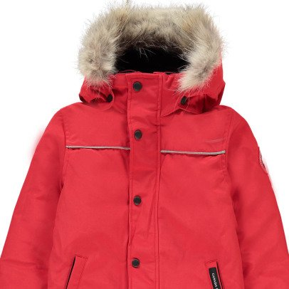 Canada Goose Skianzug Grizzly-Rot -listing