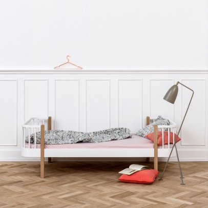 Oliver Furniture Oak Bed Wood 90x200cm-listing