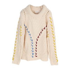 product-UNE FILLE today I am Plaited Pullover