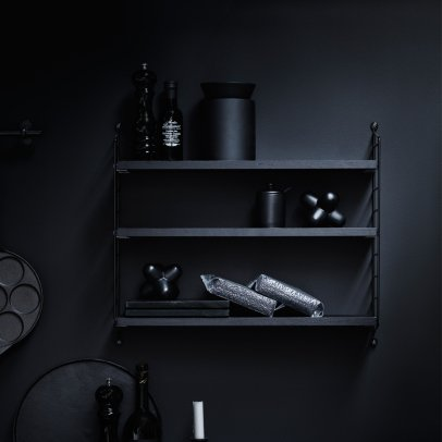 String Furniture Pocket Shelf - Black-listing