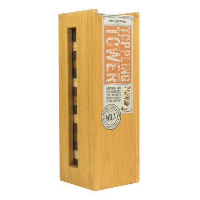 Professor Puzzle Toppling Tower Spiel- Bunt -listing