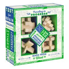 product-Professor Puzzle Multicoloured Wooden Puzzle - Set of 4