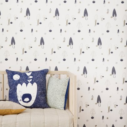 Ferm Living Kids Tapete Wald -listing
