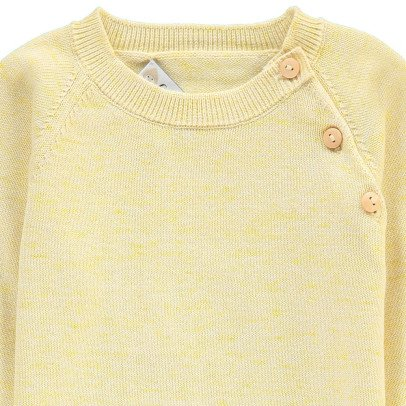 Les lutins Pull Boutonné Point Jersey Antoine-listing