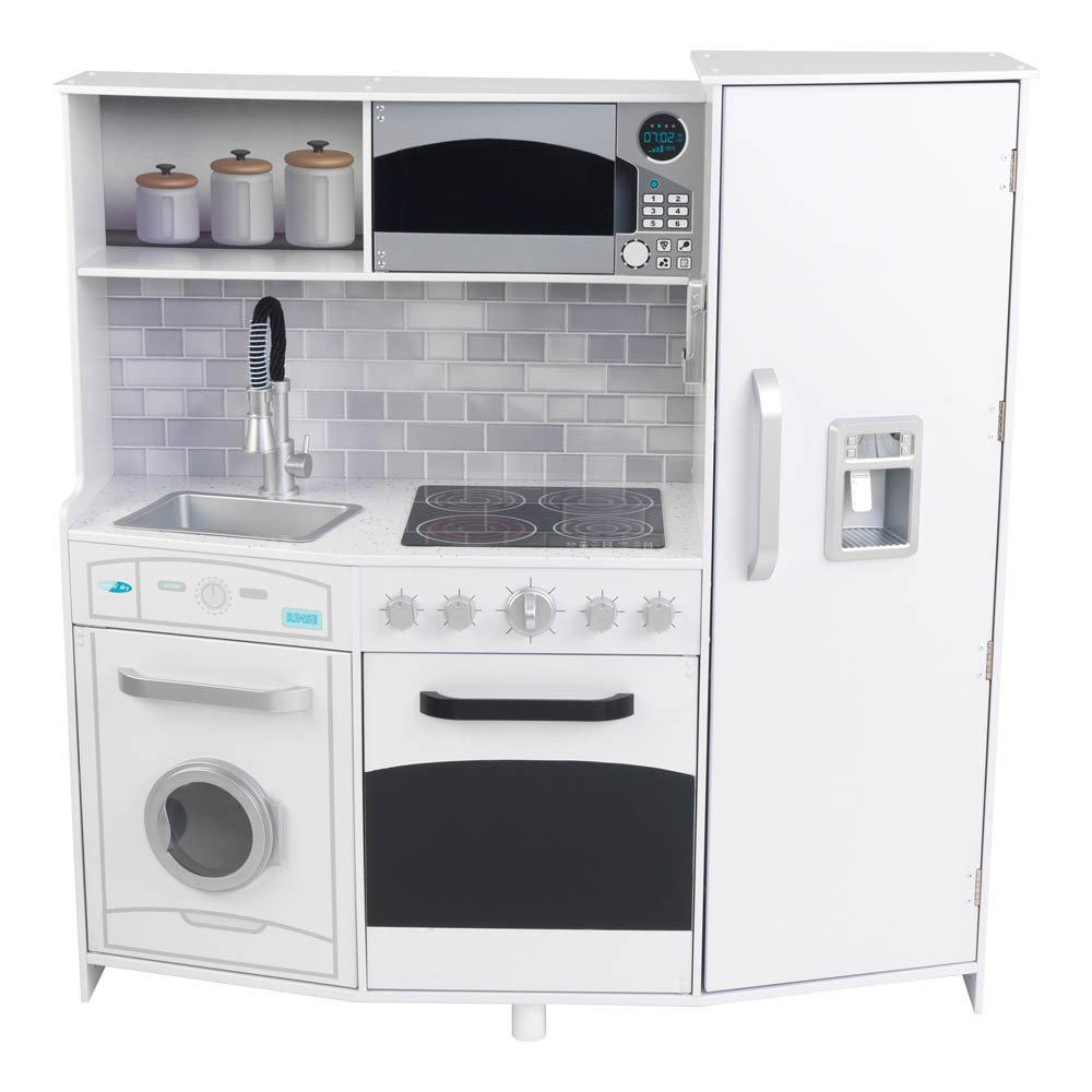 Uncategorized Big W Kitchen Appliances big kitchen with lights and sounds white kidkraft toys product