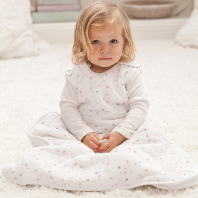 aden + anais  Pink Star Cosy Sleeping Bag-listing
