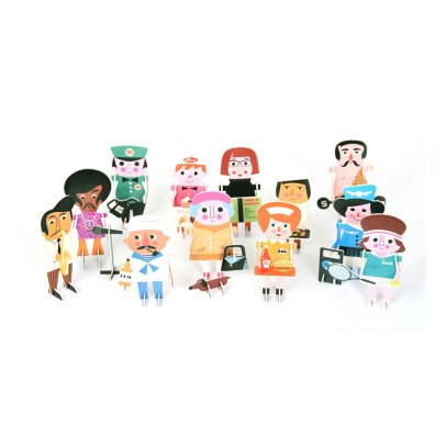 Omm Design Puzzle 3D personnages-listing