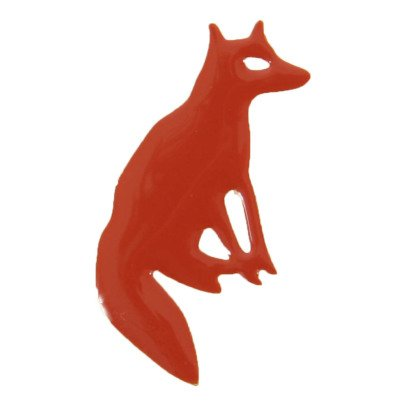 Titlee Fergus Fox Gold Brass Pin-listing