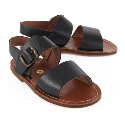 Pèpè Leather Buckled Sandals-listing