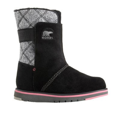 Sorel Fur-Lined Waterproof Leather Youth Rylee Boots-listing