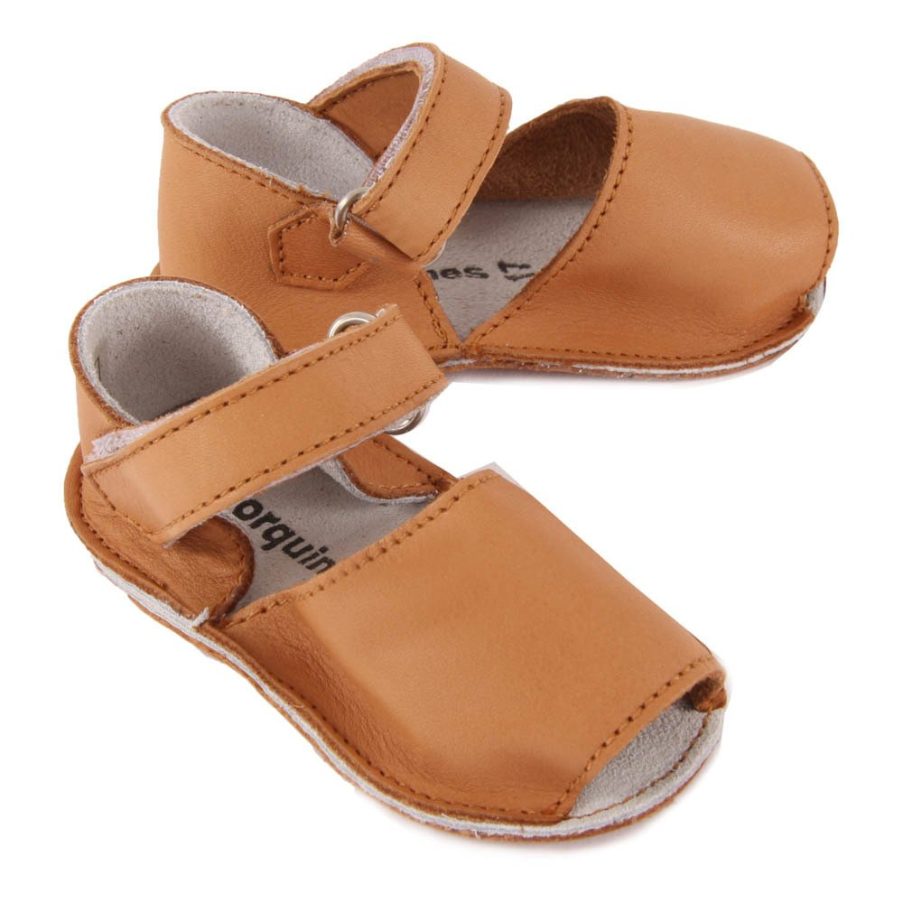 Frailera Leather Velcro Sandals Minorquines