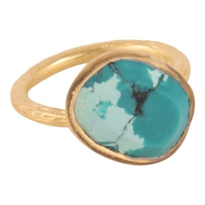 5 Octobre Aurore Turquoise Ring -listing