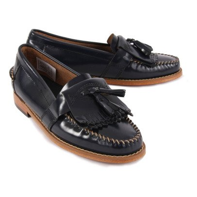 G.H. BASS & CO. Kiltie Elsepth Leather Moccasins-listing
