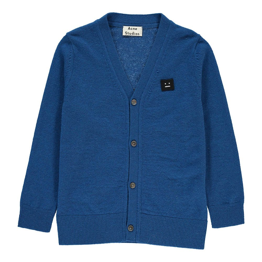 Dasher Mini Cardigan Royal blue Acne Studios Fashion Children
