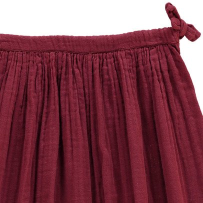 Numero 74 Ava Maxi Skirt Raspberry red-listing