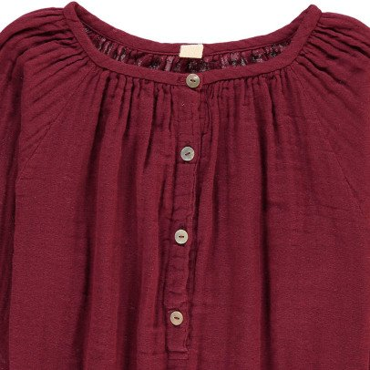 Numero 74 Blouse Manches Longues Naia Rouge framboise-listing