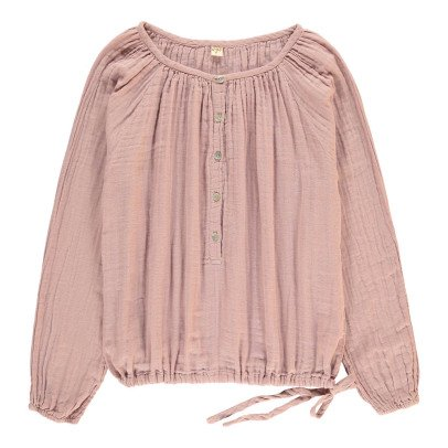 Numero 74 Naia Long Sleeve Blouse - Teen and Women's Collection Dusty Pink-listing