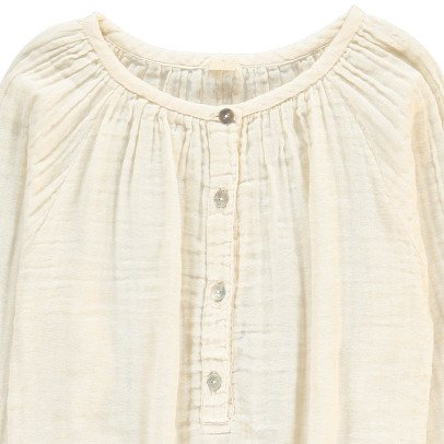 Numero 74 Naia Long Sleeve Blouse Off white-listing