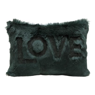 Maison de vacances Avocado Shaved Rabbit Embroidered Love Cushion-listing