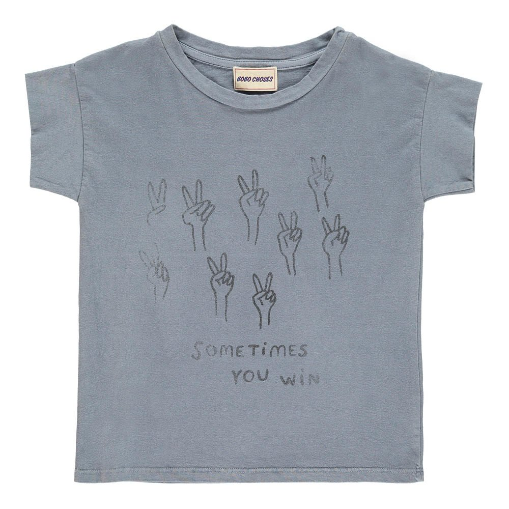 Sale - Cloud Buttoned T-Shirt - Bobo Choses Bobo Choses