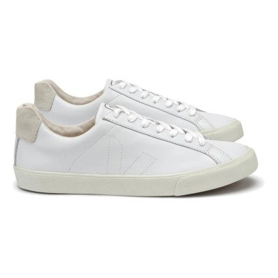 Veja Low Esplar Leather Lace-Up Trainers-listing