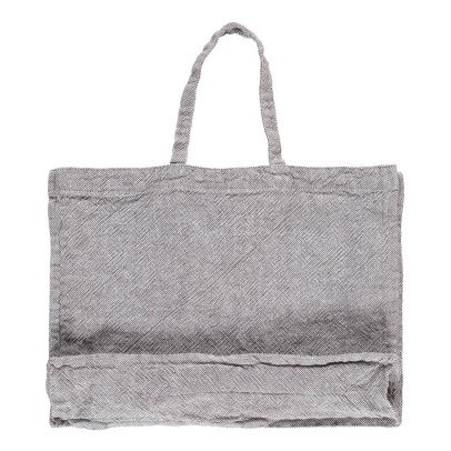 Linge Particulier Shopper in lino lavato-listing