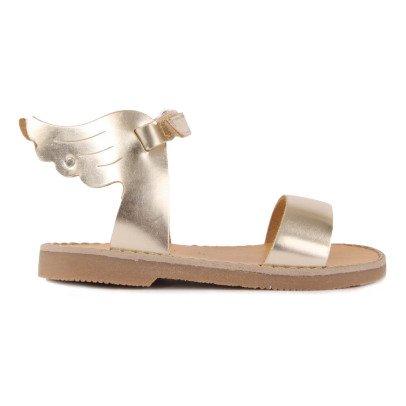 Sandales Plates Ailes