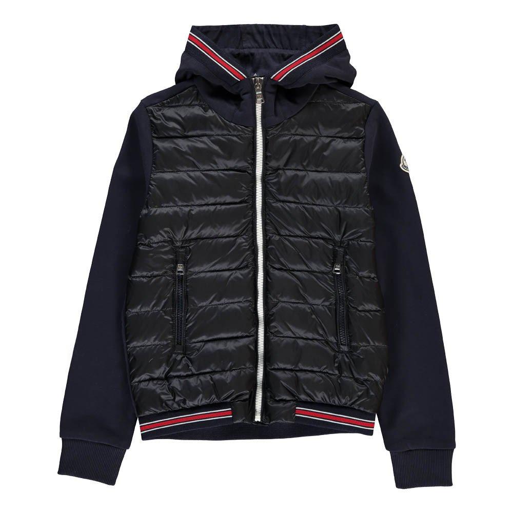 blue moncler hoodie