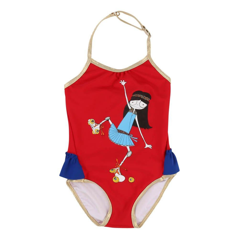 Costume da bagno 1P Neonato Rosso Little Marc Jacobs Moda Bebè