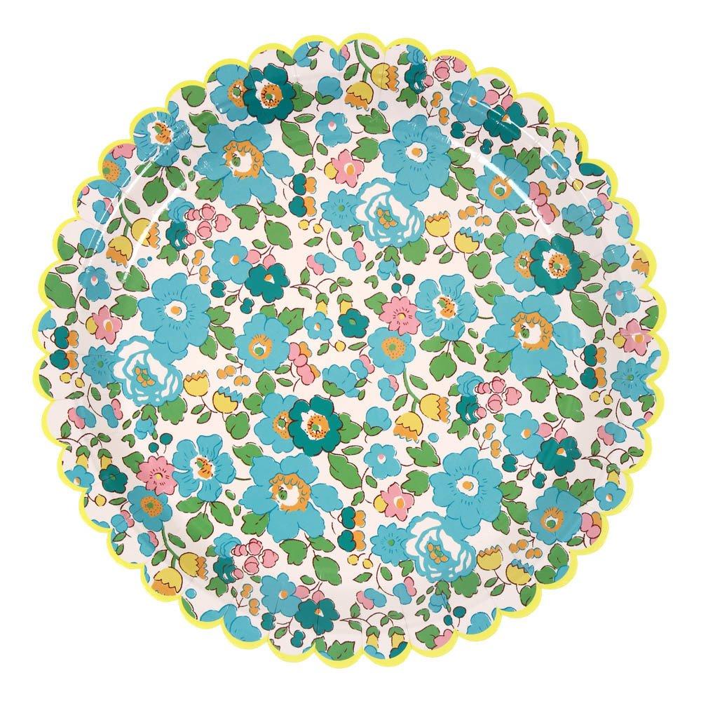 Spring Flower Paper Plates - Set of 12-product  sc 1 st  Smallable & Spring Flower Paper Plates - Set of 12 Multicoloured Meri Meri