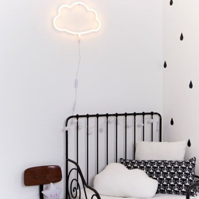 A little lovely company Lampe néon Nuage-product
