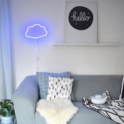 A little lovely company Lampe néon Nuage-listing