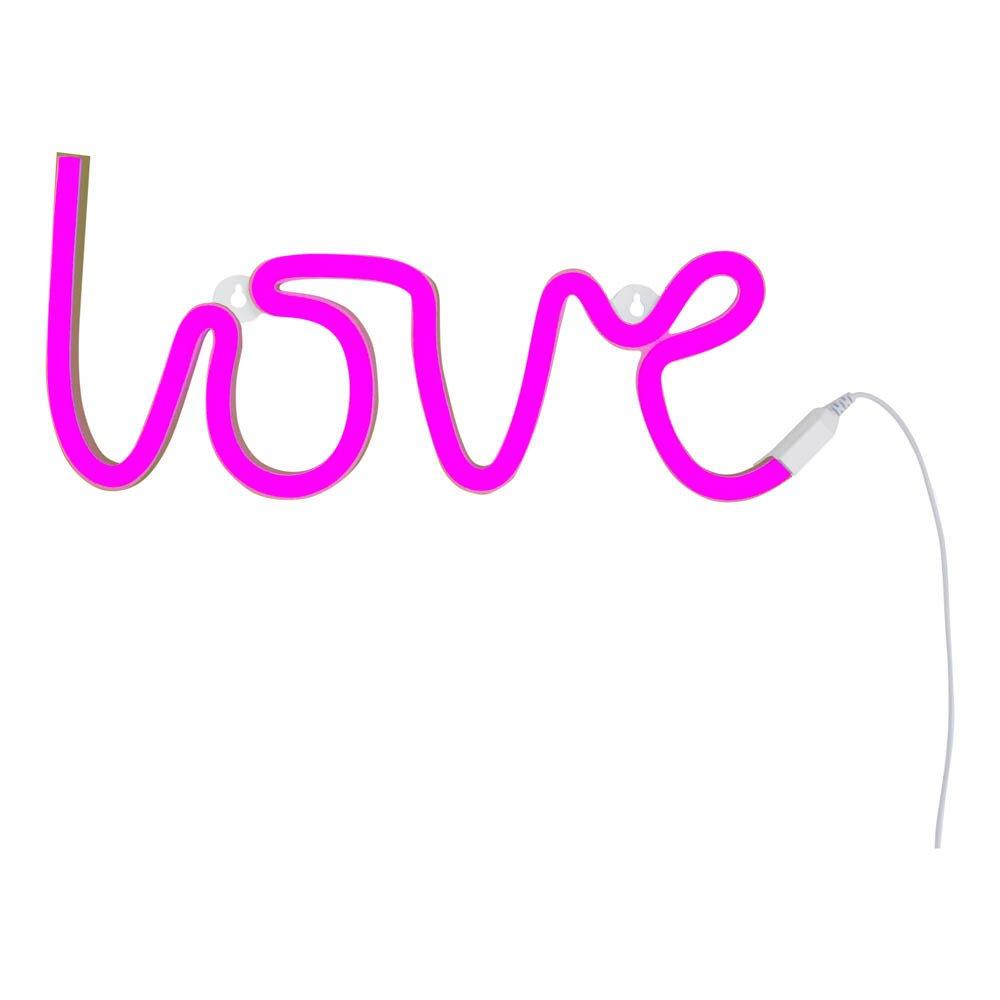 lampe n on love rose a little lovely company design enfant. Black Bedroom Furniture Sets. Home Design Ideas