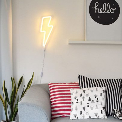 A little lovely company Lampada neon fulmine-listing