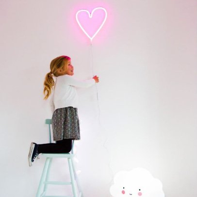 A little lovely company Lampada neon cuore-listing