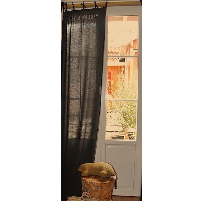 Grampa Set of 2 Jersey Curtains 78x290cm-listing