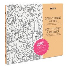 product-Omy Poster géant à colorier Home