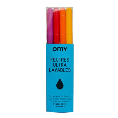 Omy Ultra-Washable Pens - Box of 16-listing